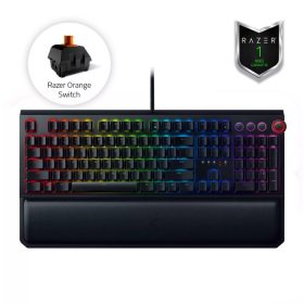 Teclado Razer BlackWidow ELITE Switch Orange c/ Apoio Pulso