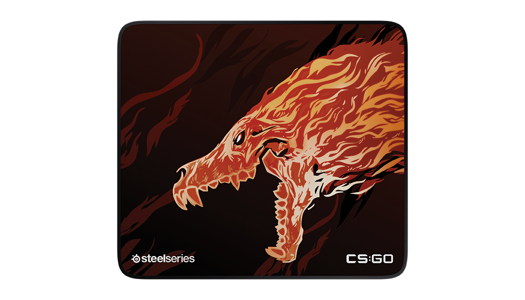 MousePad SteelSeries QcK+ CS:GO HOWL Edition 45 x 40 cm - Bordas Costuradas