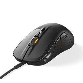 Mouse SteelSeries Rival 710 Black OLED Display TrueMove3 12000cpi - 62334