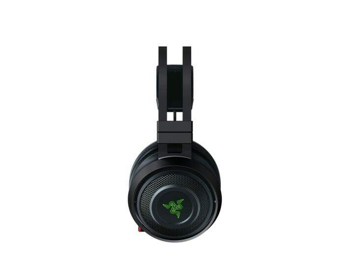 Fone Razer Nari Ultimate Wireless THX Spatial Audio Gaming para PC e PS4