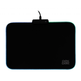 MousePad OEX Gaming Glow MP310 RGB - 35 x 26 cm