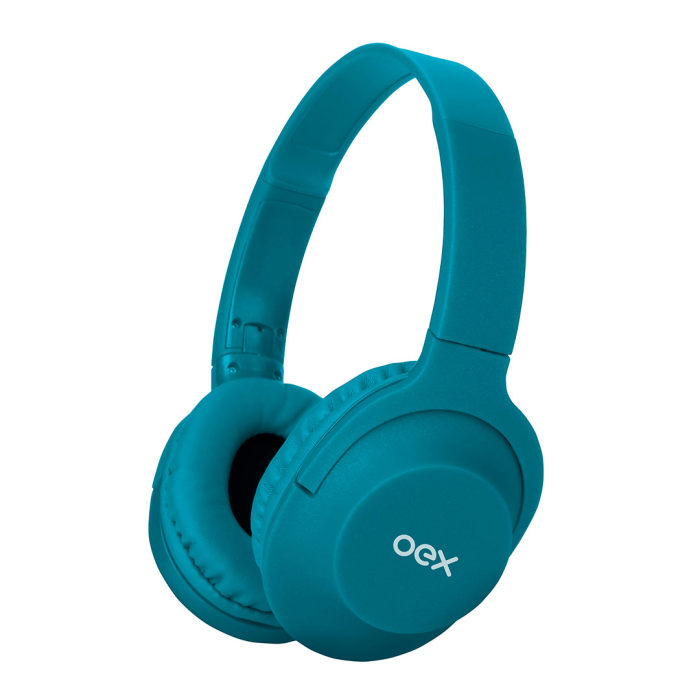 Fone OEX Gaming Flow HS307 Bluetooth Turquesa