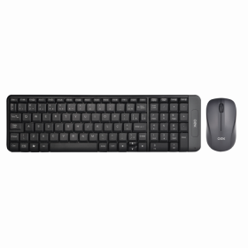 Kit Teclado e Mouse OEX Gaming Blend TM404 Cinza Wireless
