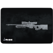 MousePad Rise Gaming Sniper Grey Médio Bordas Costuradas -  RG-MP-04-SNPG