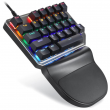 Teclado Gamer Mecânico Motospeed K27 Game Pad Switch Outemu Blue c/ Leds Rainbow - FMSTC0014PTO