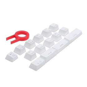 Kit de Teclas Gamer Redragon Double Shot Keycaps - A101W - 104 Teclas - Padrão US