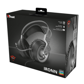 Fone Trust Gamer GXT 430 Ironn Gaming - Ps4 / Xbox One / Switch / Pc