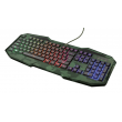 # BLACK NOVEMBER # Teclado Trust Gamer GXT 830 Avoon Rainbow Camuflado - T23136