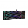 # BLACK NOVEMBER # Teclado Mecânico Gamer T-Dagger Bora RGB - Switch Outemu Blue - US - T-TGK315-BLUE