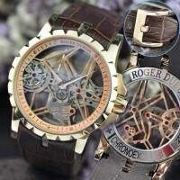 Roger Dubuis Esquelete Rose New