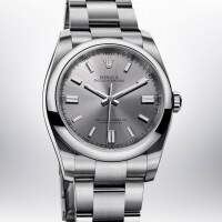 Rolex Oyster Perpetual Gray