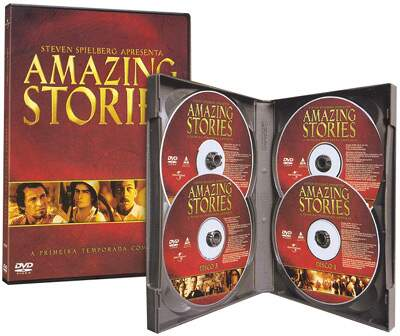Amazing Stories - 1ª Temporada- 4 DVDs