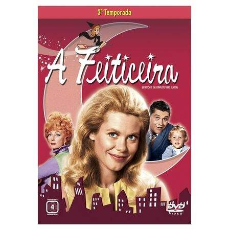 BOX A Feiticeira - 3ª Temporada (4 DVDs)