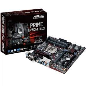 Placa Mãe ASUS PRIME B250M-PLUS DDR4 Intel (LGA1151)