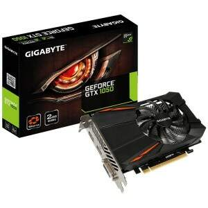 Placa Video Nvidia Geforce  GTX 1050 2GB GDDR5 128bit Gigabyte - GV-N1050D5-2GD
