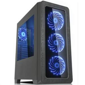 PC GAMER Intel TWISTER I - Core i3 8100 - GTX 1060 3GB - 8GB DDR4 - HD 1TB - 500W