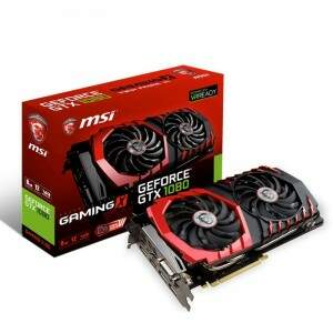 Placa de Vídeo Nvidia Geforce GTX 1080 8GB GDDR5X 256bit MSI GAMING X - 912-V336-004