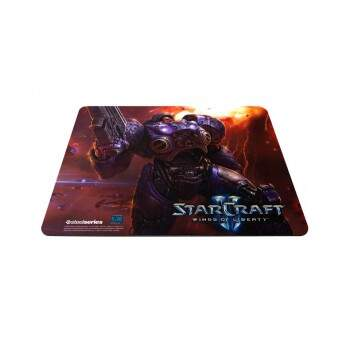 Mousepad Steelseries QcK Starcraft II Tychus Findlay Edition