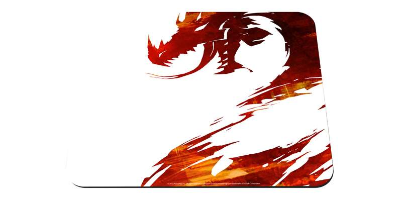 Mousepad SteelSeries QcK Guild Wars 2 Logo Edition