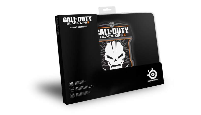 Mousepad SteelSeries QcK Call of Duty Black Ops II Badge Edition