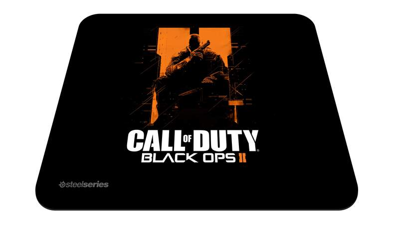 Mousepad SteelSeries QcK Call of Duty Black Ops II Orange Soldier Edition