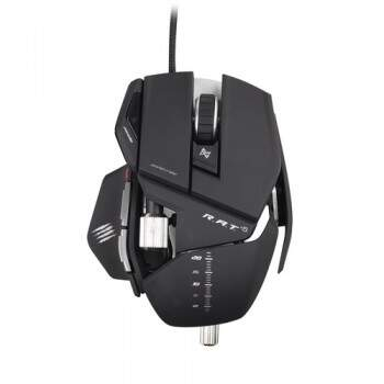 Mouse Mad Catz RAT 5 Matte Black