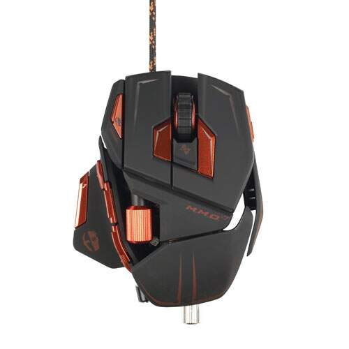 Mouse Mad Catz MMO 7 Matte Black