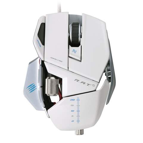 Mouse Mad Catz RAT 5 White