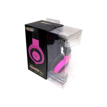 Fone Razer Kraken PRO Neon Purple - PS4/PC