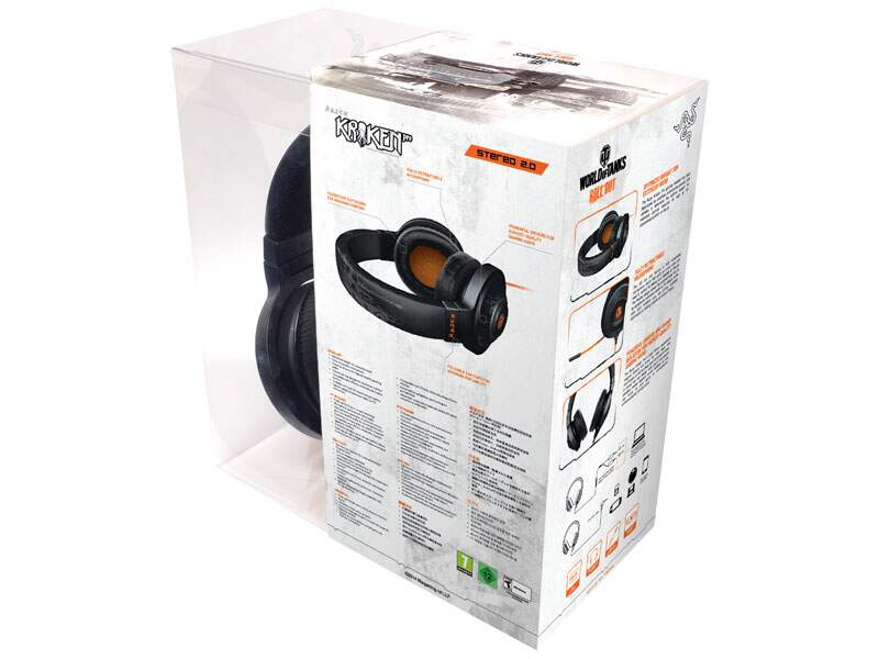 Fone Razer Kraken Pro World of Tanks - PS4/PC