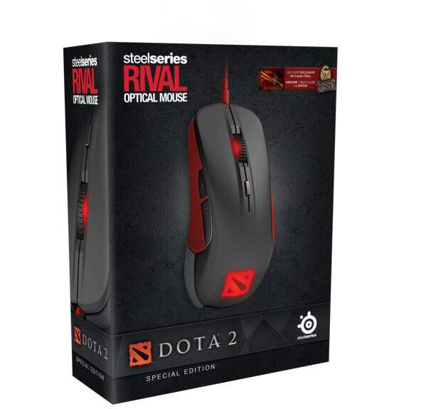 Mouse Steelseries Rival Dota 2