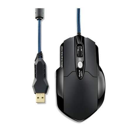 Combo Mouse Multilaser Gamer Warrior 3200DPI  Mousepad Warrior - MO191