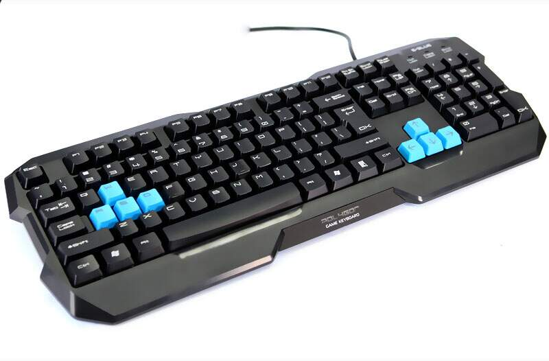 Teclado E-Blue Polygon Black
