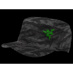 Razer Black Camo Military Cap
