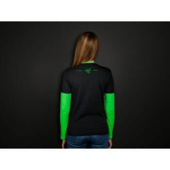Razer T-Shirt Neon Long Sleeve Ladies