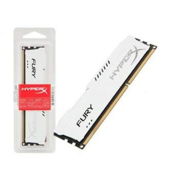 Memória Kingston HyperX Fury 8GB 1866MHZ DDR3 White