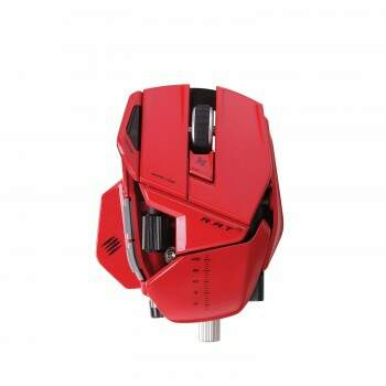 Mouse Mad Catz RAT 9 Red Wireless