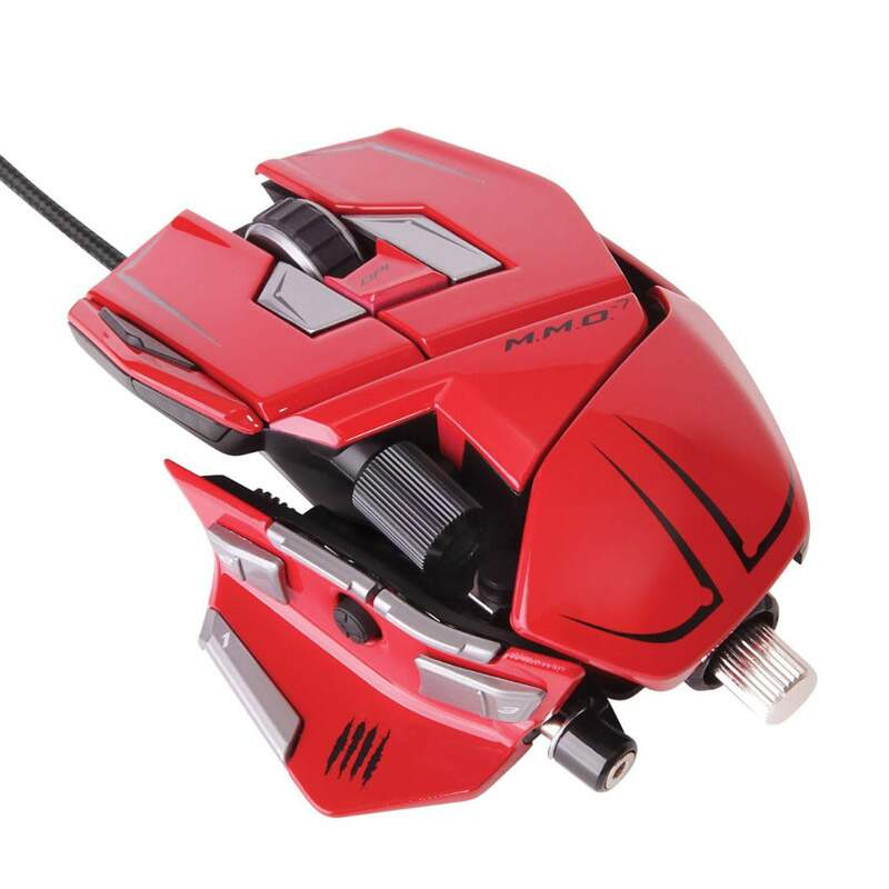 Mouse Mad Catz MMO 7 Red