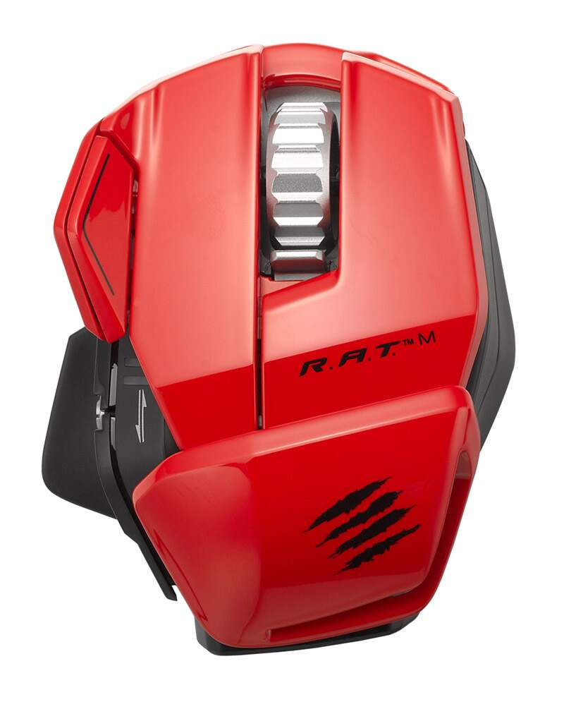 Mouse Mad Catz RAT M Red Wireless
