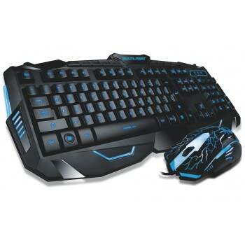 Combo Multilaser Gamer Lightning - Tc195