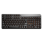 Teclado Cougar Attack2 - Teclas BLACK/Layout Americano