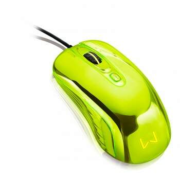 Mouse Multilaser Warrior Chrome - MO228