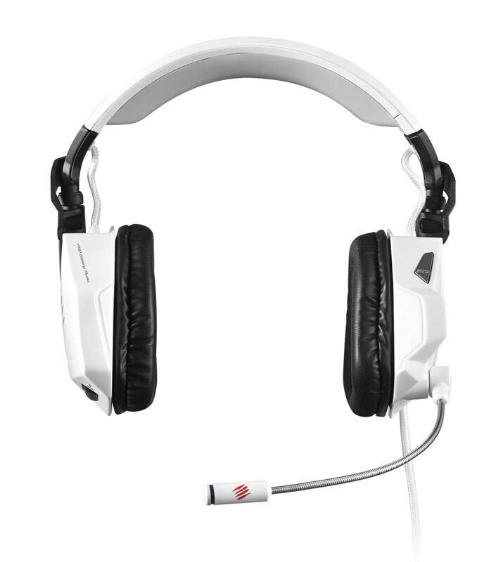 Fone Mad Catz FREQ 5 Stereo White - PC and Mac