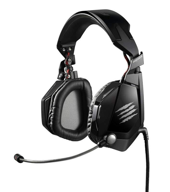 Fone Mad Catz FREQ 5 Stereo Black - PC and Mac