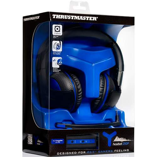 Fone Thrustmaster Y-250P - PC/PS3/PS4