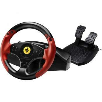 Volante Thrustmaster Ferrari Racing - Edição Red Legend - PC/PS3