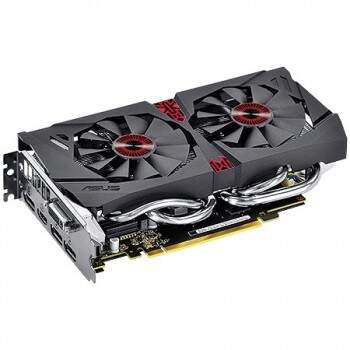 Placa de Vídeo Nvidia Asus Strix GeForce GTX 960 OC EDITION 2GB 128 BITS GDDR5