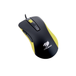 Mouse Cougar 300M Black/Yellow