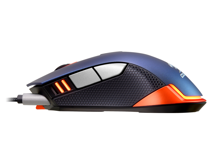 Mouse Cougar 550M Blue/Orange
