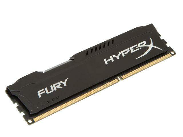 Memória Kingston HyperX Fury 8GB 1600MHZ DDR3 Black